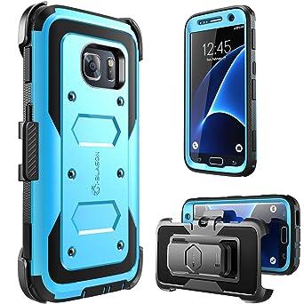 i-Blason GalaxyS7-Armorbox-Blue Samsung Galaxy S7 Tok