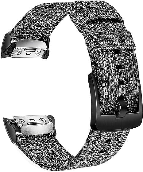 TRUMiRR Gear Fit2 Pro Correa de Reloj, Correa de Reloj de Nylon ...