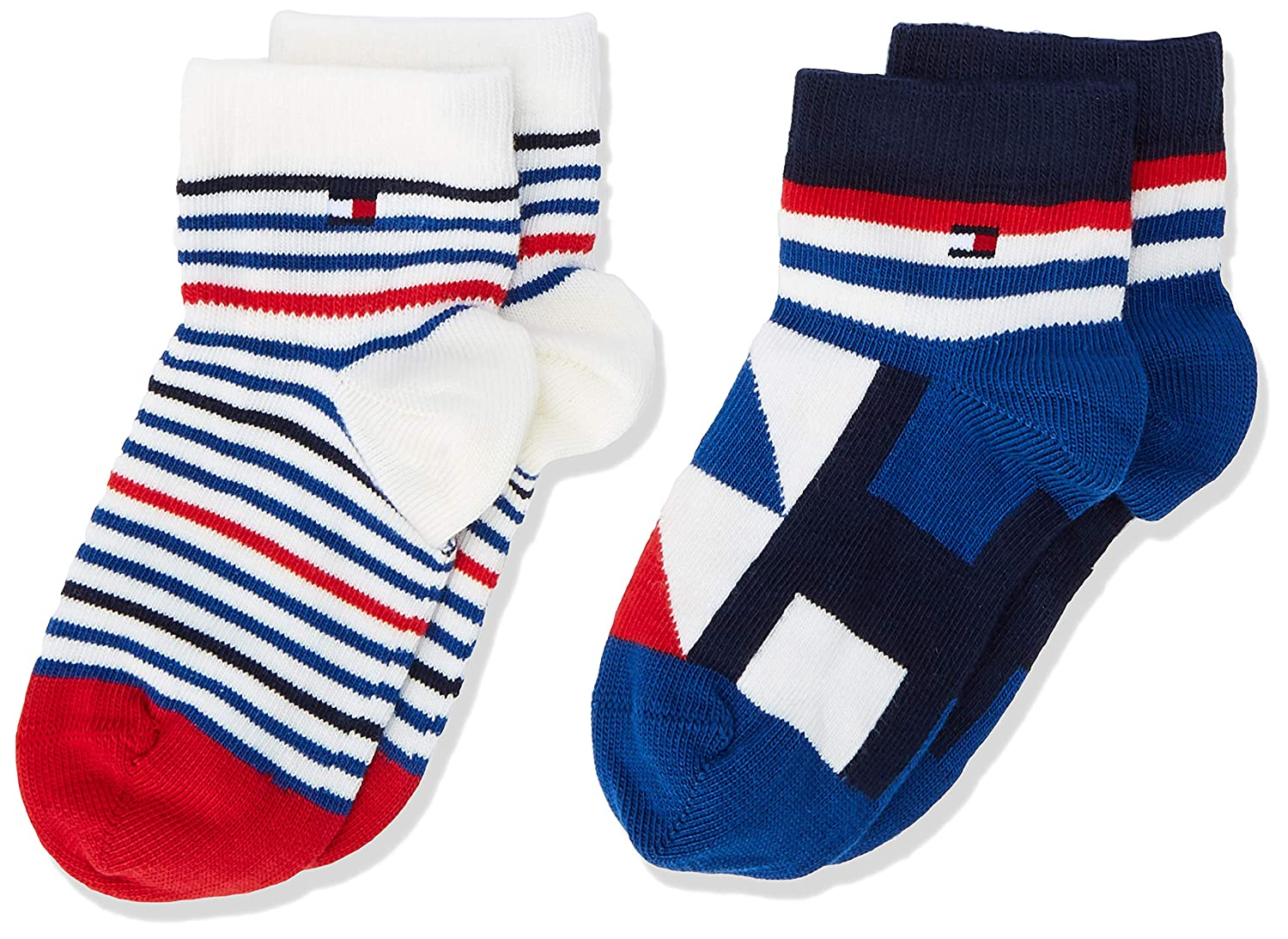 Pack of 2 Tommy Hilfiger Boys Calf Socks,