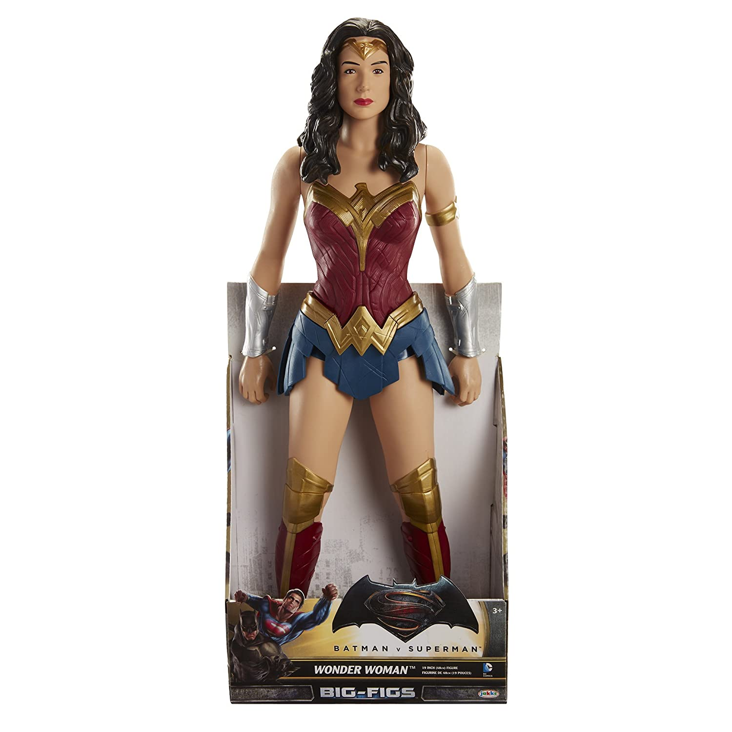 e8ecdc24de6 Amazon.com  Batman Vs Superman Big FIGS 19