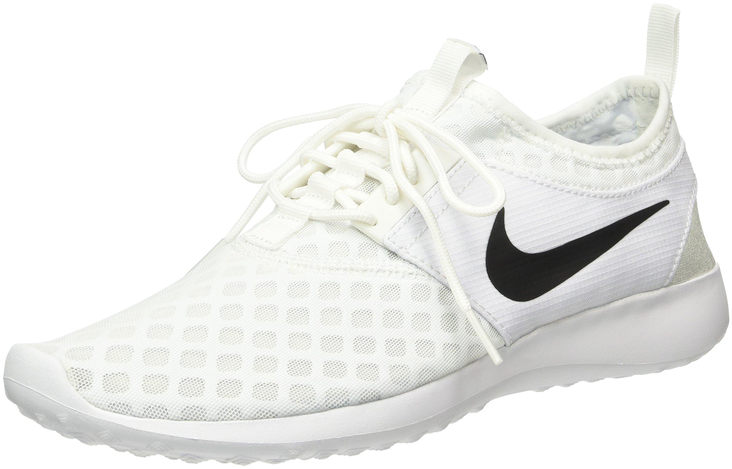 Nike Women's Juvenate Sneaker, White/Black, 5.5 B US
