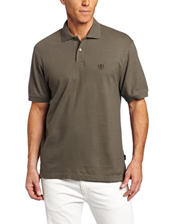 bfd3ecc077f3d IZOD Men s Short-Sleeve Crested Pique Polo Shirt at Amazon Men s Clothing  store  Polo Shirts