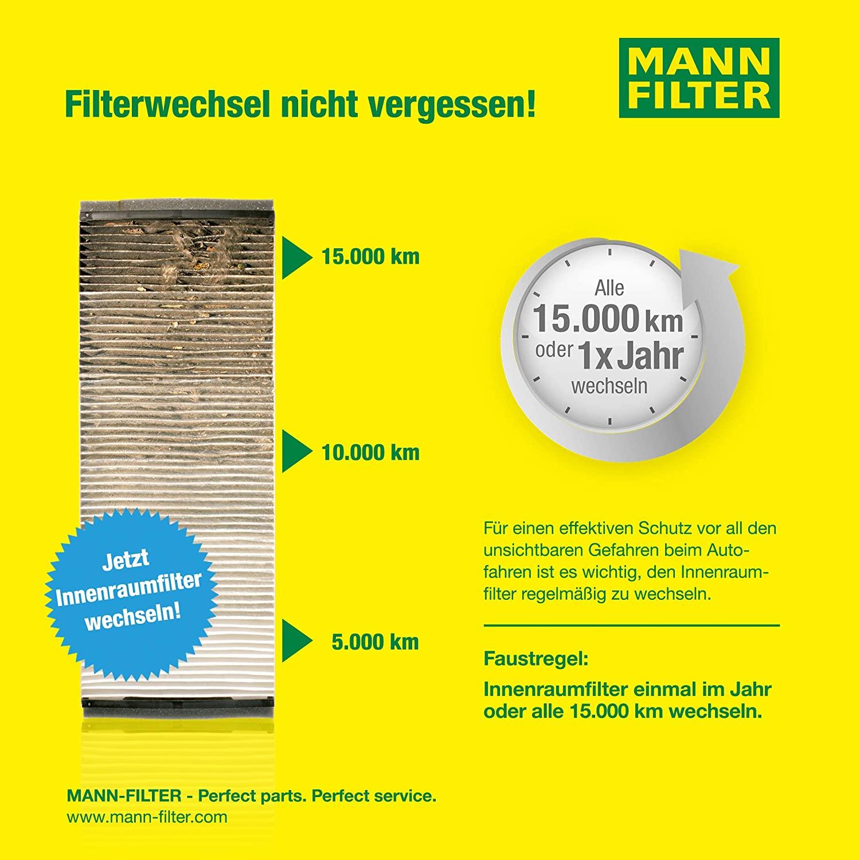 f/ür PKW Original MANN-FILTER CU 23 005-2 Innenraumfilter