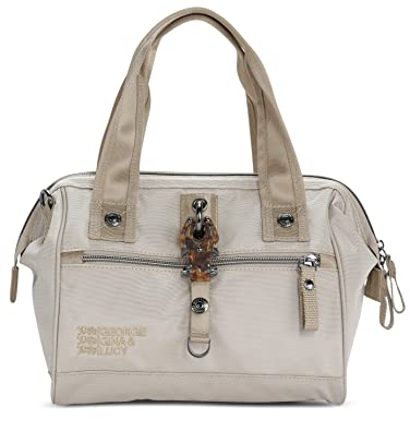 Nylon Frameboy Handtasche beige George Gina Lucy E8aF1