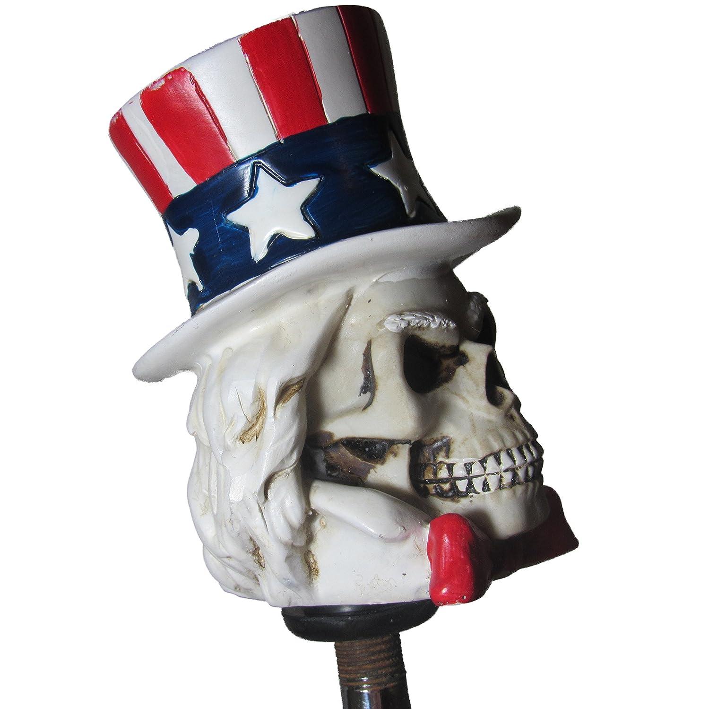 Patriotic Uncle Sam Shift Knob Hot Rod Auto Gear Shifter USA Kool Collectibles