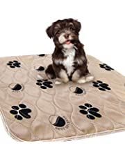 Washable Pee Pads for Dogs, 2- Pack Large 30 x 32 Reusable Dog,Puppy Wee Wee, Whelping and Training Pad for Home, Apartment, Crate and Travel