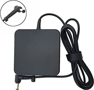 19V 3.42A 65W AC Adapter Replacement for ASUS X45A X550 X550ZA X550LA X551 F555 AD887320 PA-1650-78 A56C A56CA A56CM ADP-65GD B EXA1203YH 5.5/2.5mm Power Supply