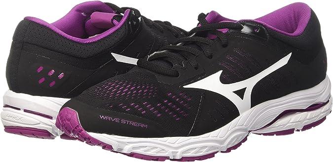 Mizuno Wave Stream Wos, Zapatillas de Running para Mujer: Amazon ...