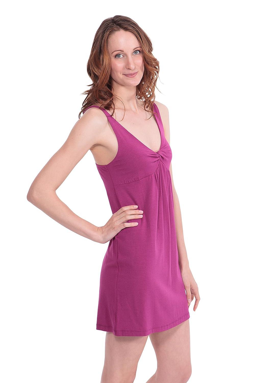 94501b832d ... wholesale dealer 4f353 e97b5 Womens Luxury Bamboo Viscose Nightgown -  Stylish Cozy Sleepwear Gown WB0401 at ...