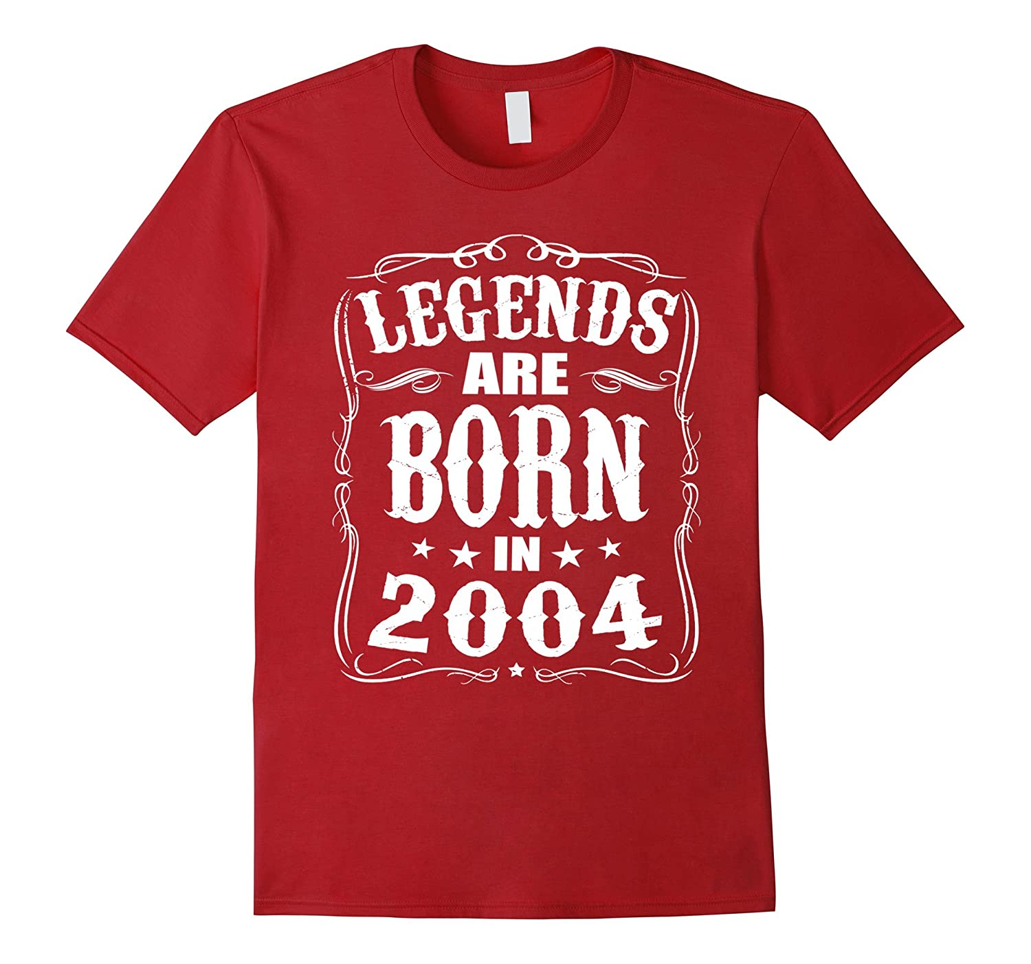 Legends Are Born In 2004 13 Year Old 13th Birthday Gift Idea-TH