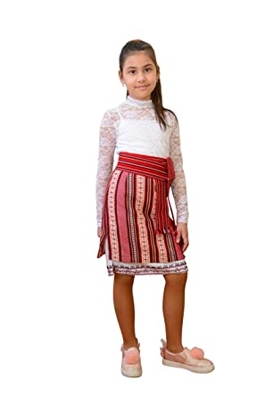 Ukrainian Fashion Falda Tejida Tradicional ucraniana para ...