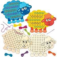 Baker Ross Kits de Costura de ovejas