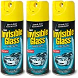Invisible Glass 91163-3PK 15-Ounce Cleaner for Auto and Home for a Streak-Free Shine, Deep-Cleaning Foaming Action, Safe…
