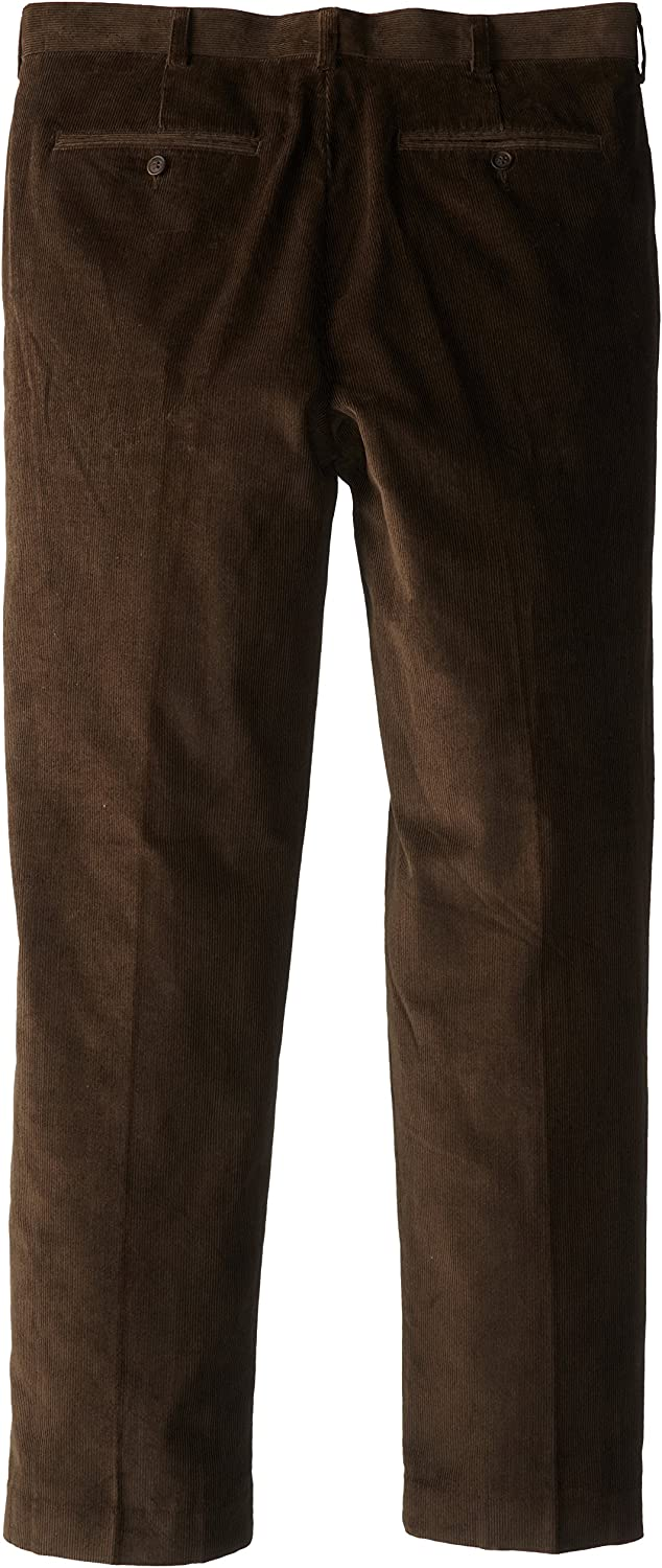 Geoffrey Beene Mens Classic Fit Luxury Touch Corduroy Pant