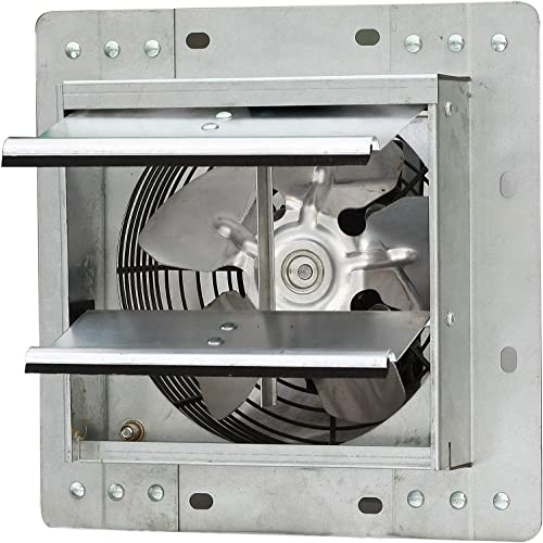 iLIVING ILG8SF7V Shutter Exhaust Fan, 7 – Variable, Silver