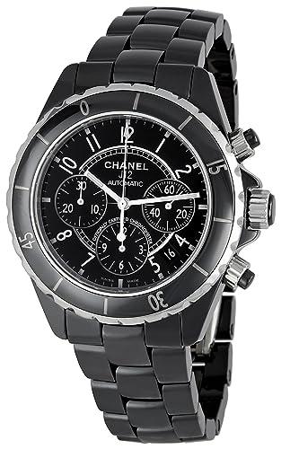 33deecf0ce9f CHANEL J12 Chronograph - Reloj (Reloj de Pulsera