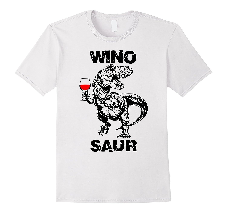 WINO SAUR T-shirt special red dinosaur-RT