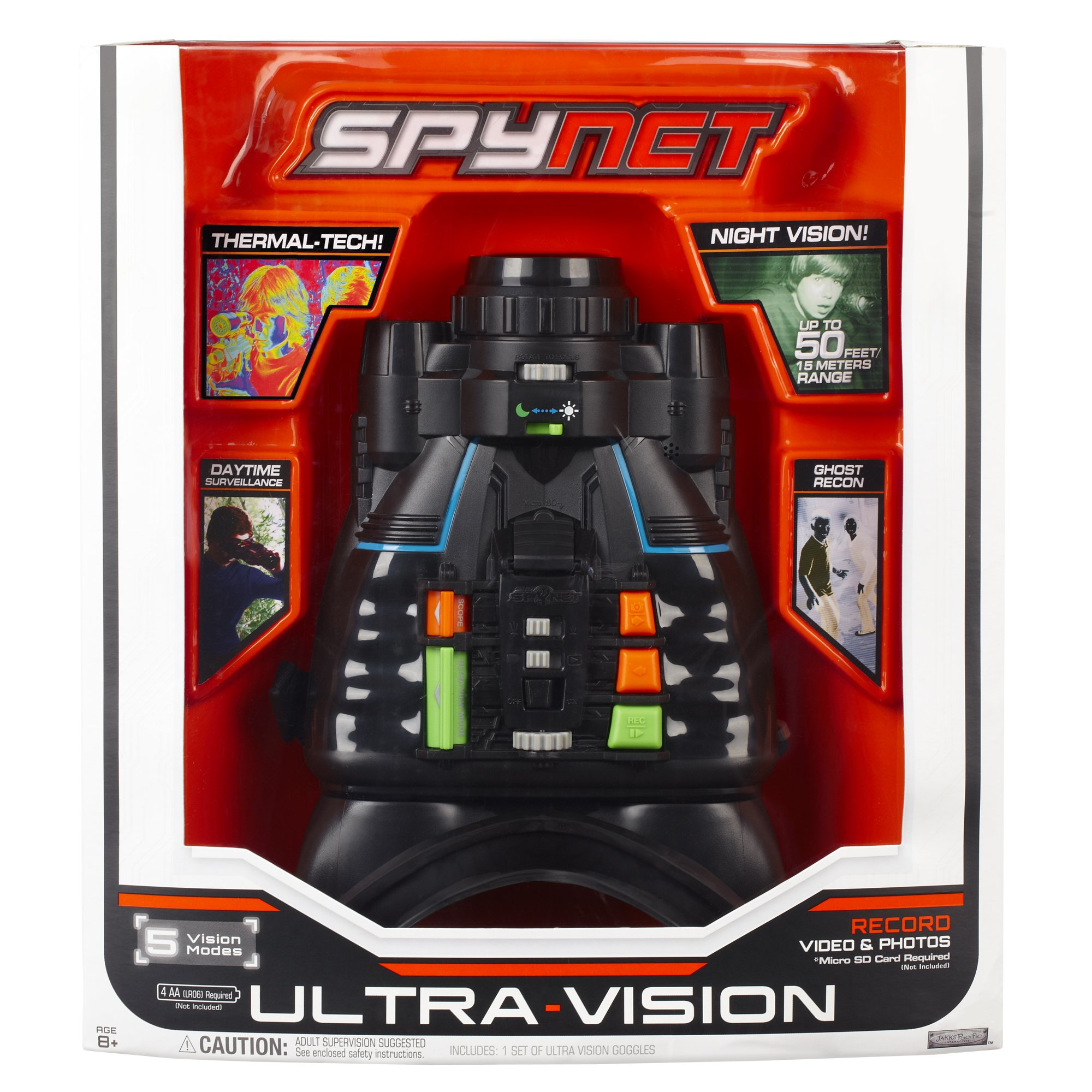 672ebd98cf626 Amazon.com  SpyNet Ultra Vision Goggles with 5 Vision Modes by Jakks  Pacific  Toys   Games