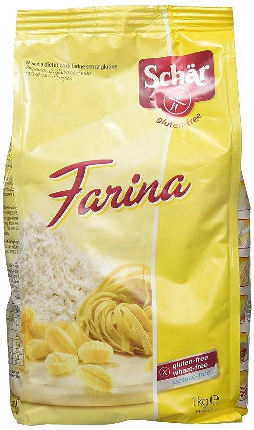 Dr. Schar Farina Harina sin Gluten - 1 Kgr: Amazon.es ...