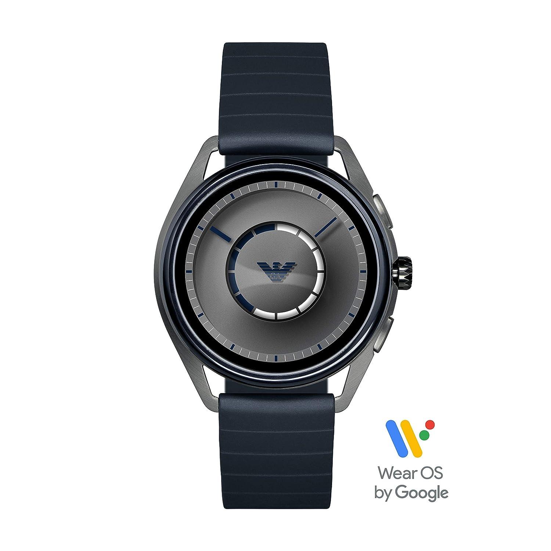Emporio Armani Smartwatch para Hombre con Correa en Caucho ART5008