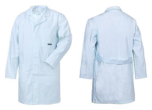 d9c759adf0c5 HighMax Kittel, Mantel, Arbeitsmantel, Baumwolle 290G Weiß, Maler, Labor,  Lebensmittel