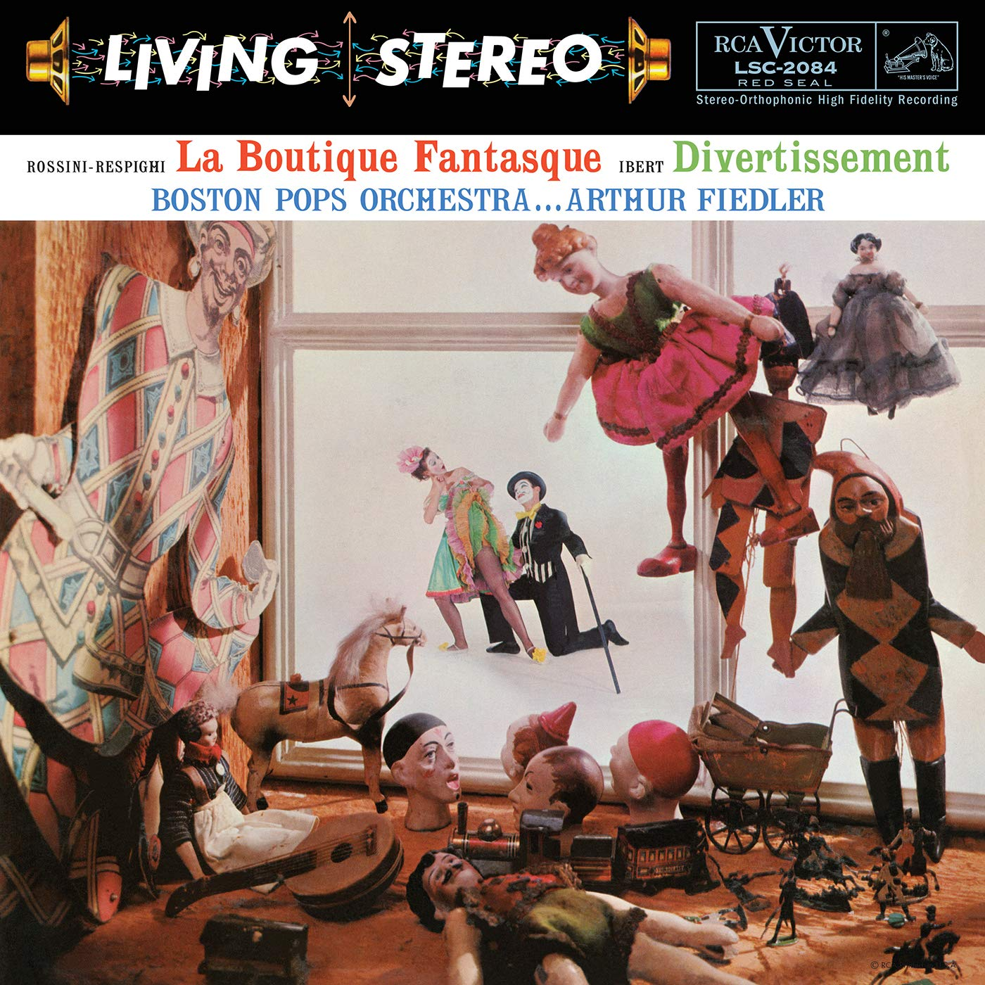 Vinilo : Arthur Fiedler - Rossini-respighi - La Boutique Fantasque & Ibert - Divertissement (200 Gram Vinyl)