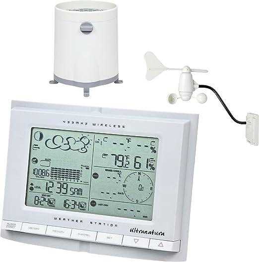 Ultranatura UN 1200 - Estación meteorológica, previsiones y mediciones Profesionales: Amazon.es: Jardín