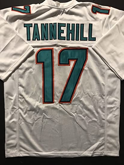 new style 191c2 1e651 Unsigned Ryan Tannehill Miami White Custom Stitched Football Jersey Size XL  New No Brands/Logos
