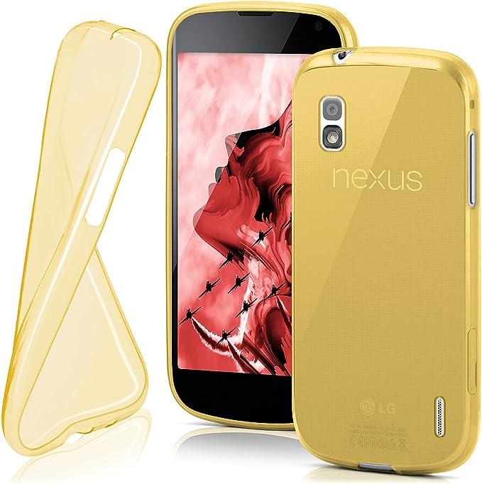 MoEx® Funda [Transparente] Compatible con LG Google Nexus 4 ...