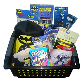 Amazon batman gift basket perfect for easter birthdays batman gift basket perfect for easter birthdays christmas or other occasion negle Gallery