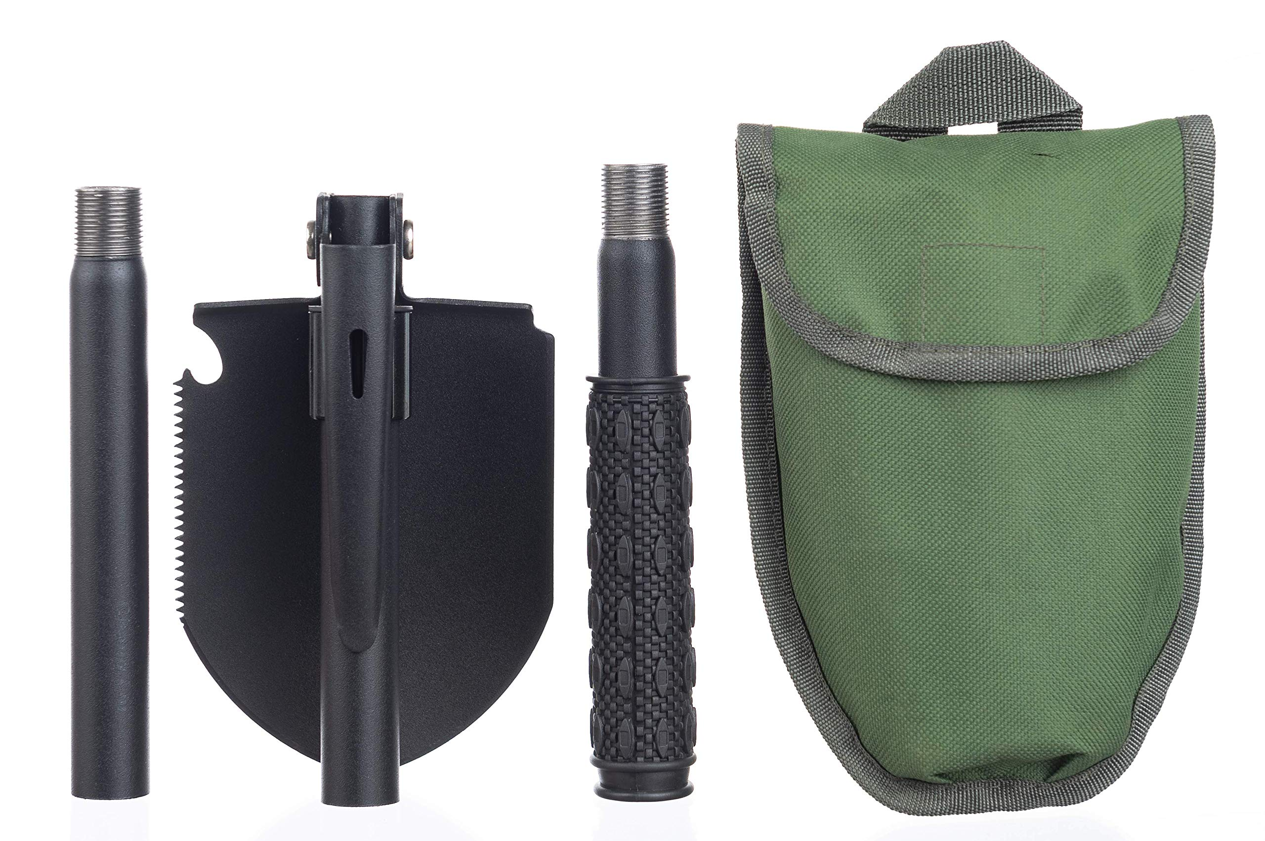 Survival Gear Products Collapsible Shovel and Multi Tool. Lightweight, Compact, and Durable. Perfect for the Car, Backpacking Adventure, Family Camping Trip, or Your Emergency Preparedness Kit. by     Survival Gear Products                                                                                                                                                                                                                                      (Image #4)