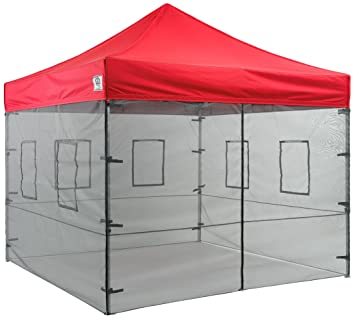 Impact Canopy 10 x 10 Sidewalls Kit Food Vendor Mesh Sidewalls for Instant Pop Up  sc 1 st  Amazon.com & Amazon.com : Impact Canopy 10 x 10 Sidewalls Kit Food Vendor Mesh ...