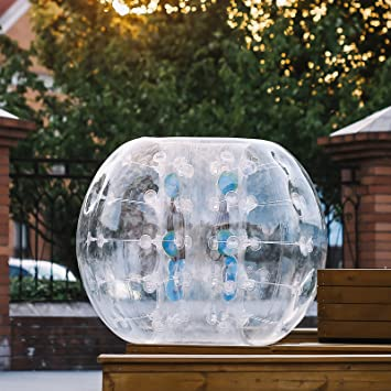 Happybuy bola inflable 1.2 M 1.5 M bola hinchable GEANTE 0.8 ...