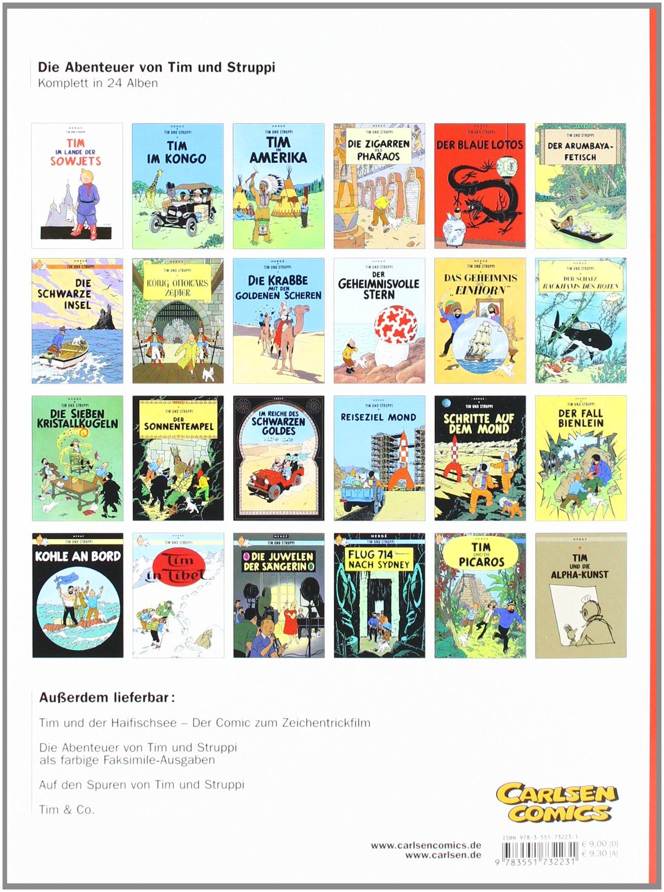 Tim Und Struppi: Die Zigarren Des Pharaos - German Edition Tintin