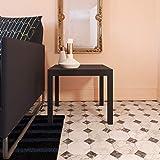 Ameriwood Home Parsons Modern End Table, Black