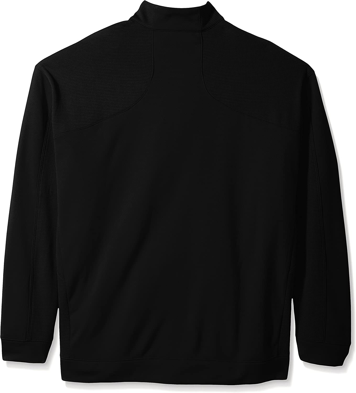 Cutter & Buck BCK08861 Men's CB Drytec Edge Half Zip Sweater at  Men's Clothing store: Sports Fan Polo Shirts