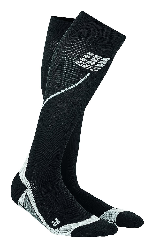 CEP Progressive Compression Women's Black & Grey Run Socks (Size II) WP45V32