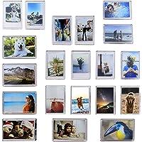 Paquete de 20 Mini Imanes Marco de Fotos
