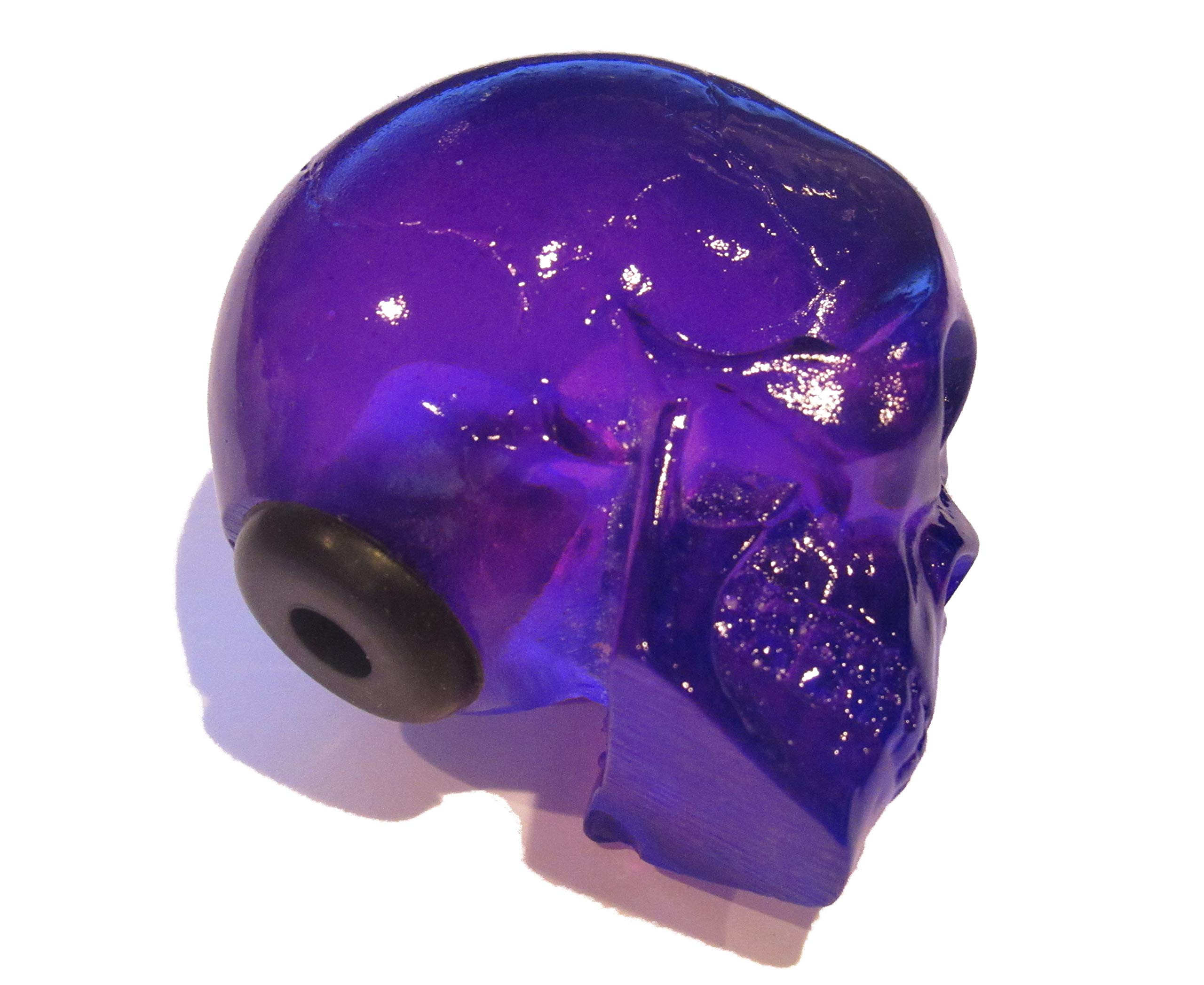 Kool Collectibles Clear Purple Skull Shifter Shift Knob Rat Rod Lever by Kool Collectibles (Image #4)
