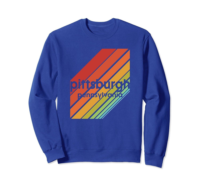 Pittsburgh Sweatshirt Vintage Retro Style 80s Apparel Ah My Shirt