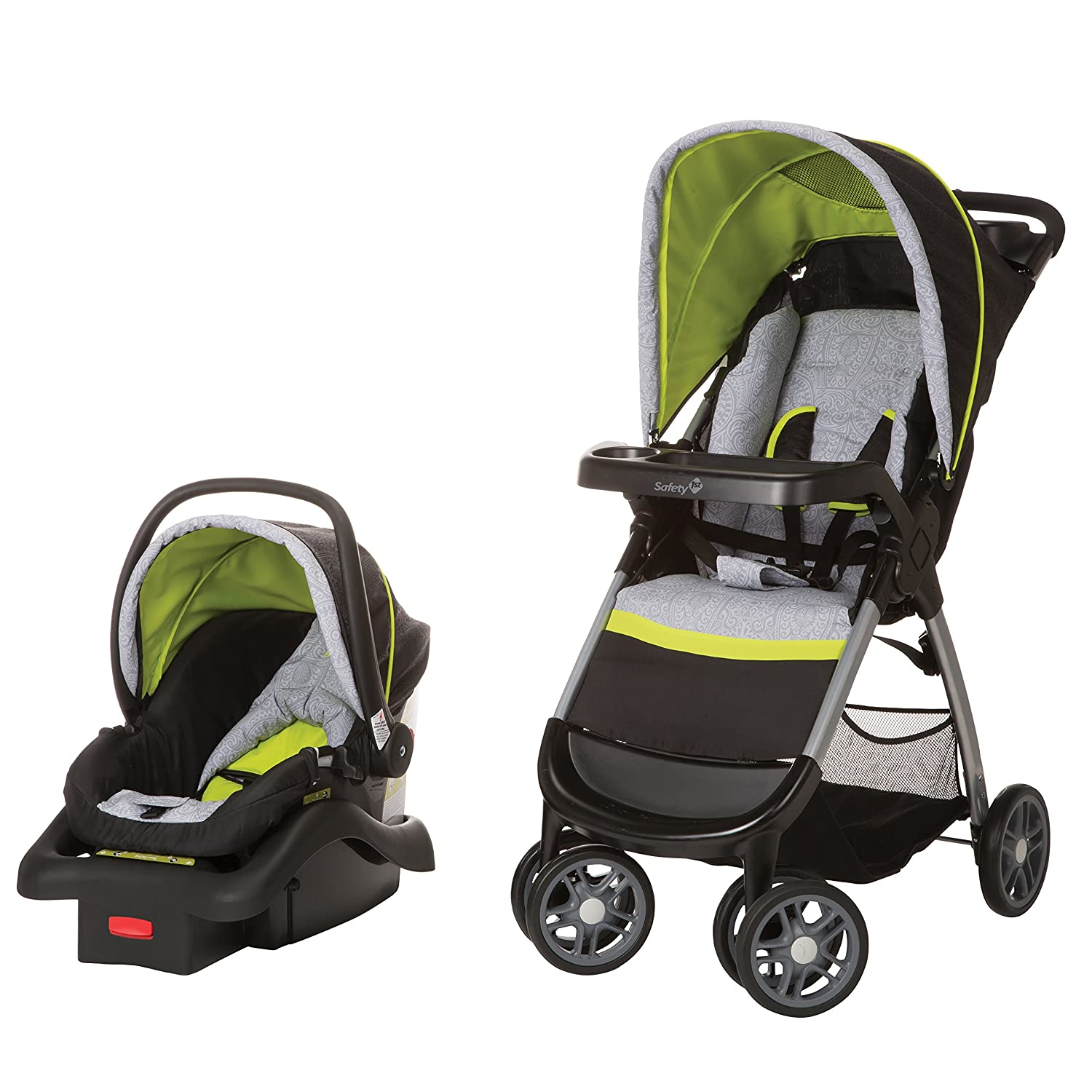 825b53988 Amazon.com   Safety 1st Amble Quad Travel System with Onboard 22 ...