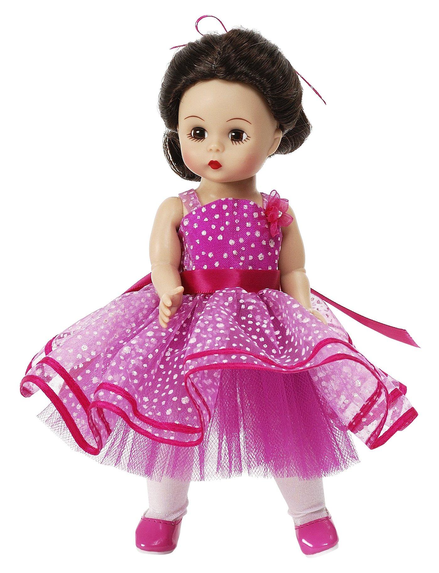Madame Alexander Birthday Wishes Brunette Doll, 8'' by Madame Alexander