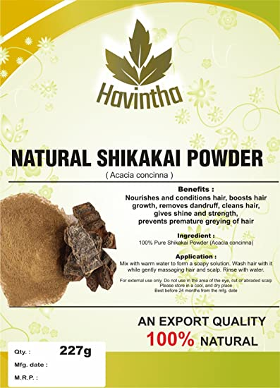 Amazoncom Natural Shikakai For Natural Cleanser And Conditioner