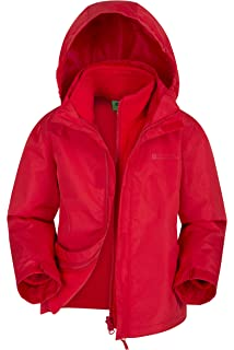 b5e9ecea9 Amazon.com: Gerry Girls 3 In 1 System Winter Jacket Hooded Coat With ...