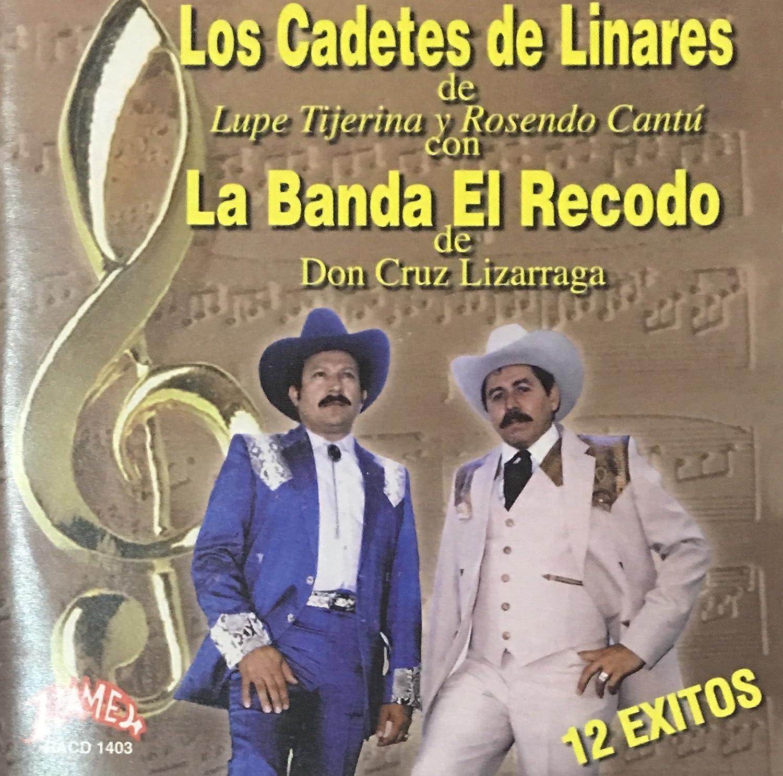 Amazon.com: LOS CADETES DE LINARES CON LA BANDA EL RECODO ...