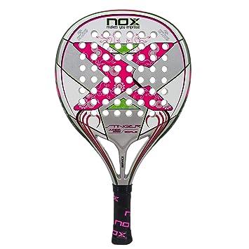 Nox Stinger Jr. 2.1 Girls Pala de pádel, Unisex niños, Rosa