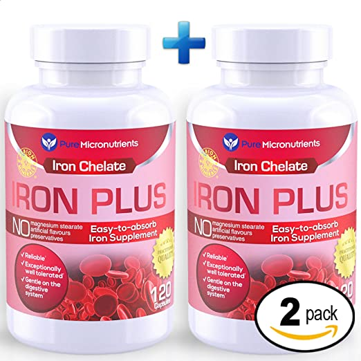 Product thumbnail for Pure Micronutrients Iron Plus Supplement