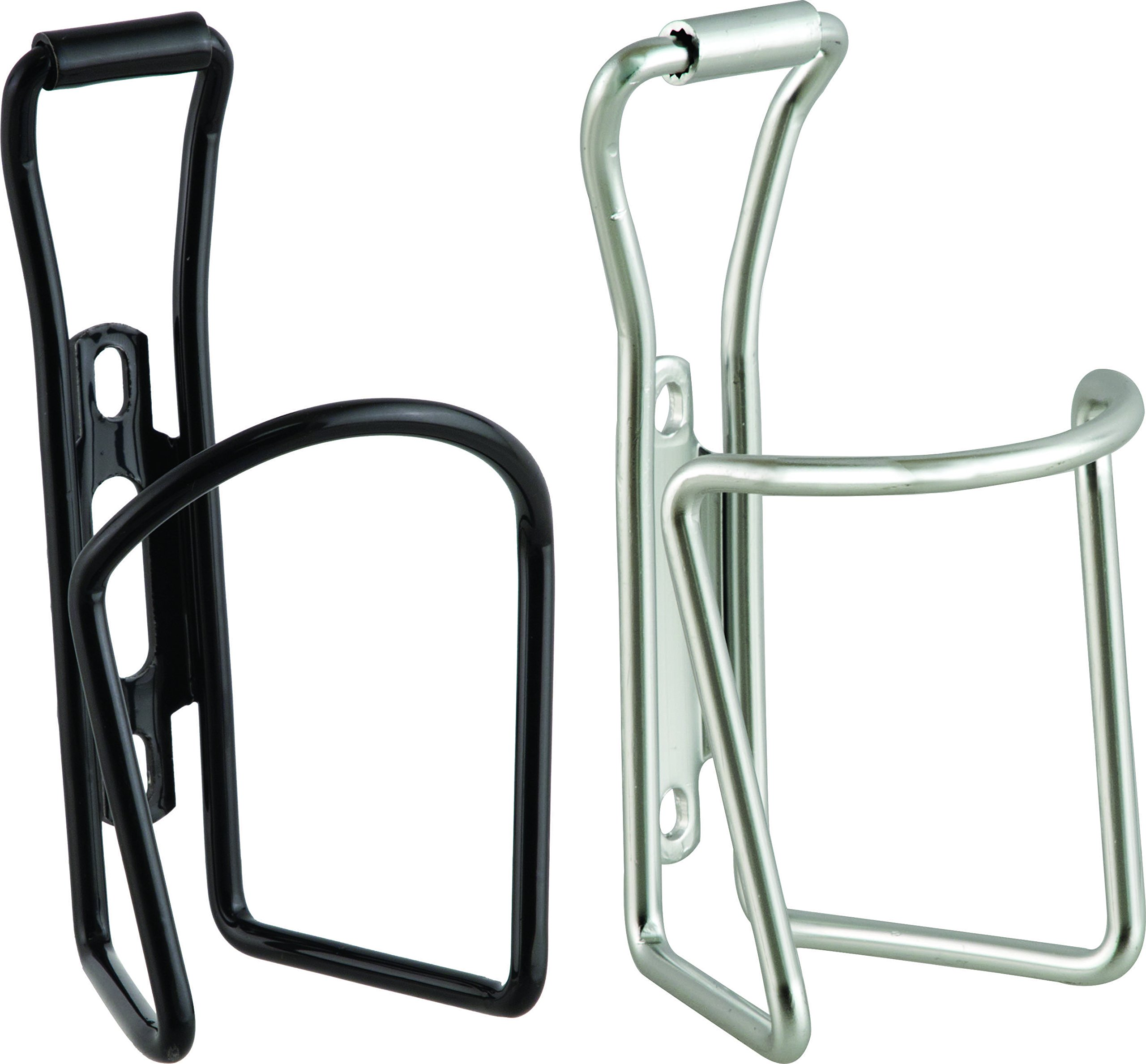 ACTION Bulk 25 Black/25 Silver Water Bottle Cage