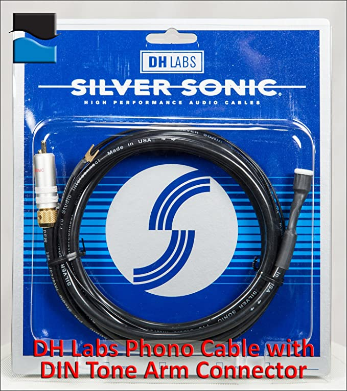DH Labs Cable RCA con DIN tono brazo conector, cable de 2.0 metros ...