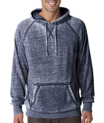 0173f2a49 J.America Adult Vintage Zen Hooded Pullover Fleece at Amazon Men's Clothing  store: